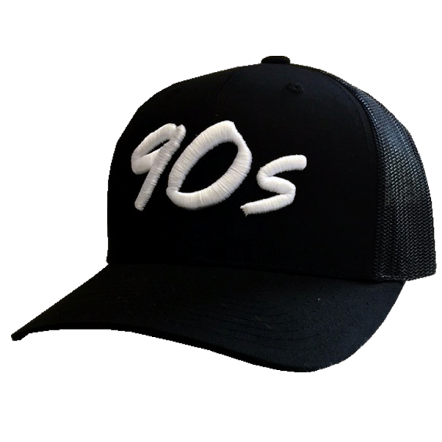 The Best Decade in Country Music Black Mesh Ballcap
